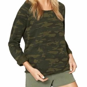 SANCTUARY Pullover Camo Hoodie, size XS, NEW